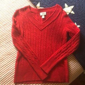 Ann Taylor LOFT V Neck Sweater